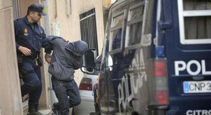 """اعتقال مغربي في إسبانيا بسبب تنظيم """"داعش"""""""