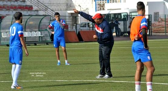 صور من تدريبات فريق المغرب التطواني استعدادا لمباراة الوداد البيضاوي