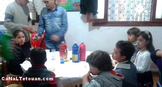 تنظيم ورشة فنية لفائدة الأطفال ذوي التثلث الصبغي بتطوان