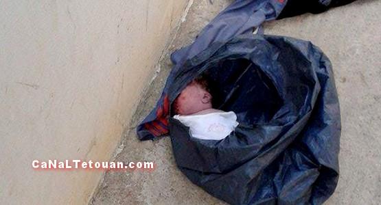 العثور على جثة رضيع بشارع محمد الخامس بتطوان !