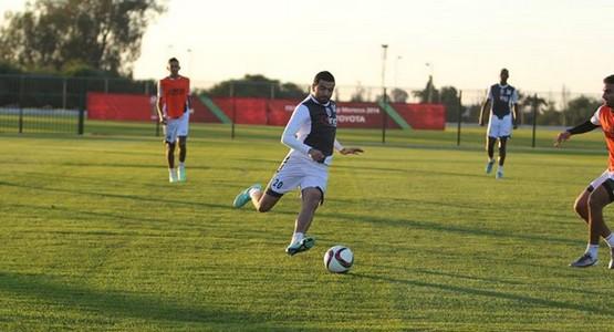 صور لآخر استعدادات المغرب التطواني قبل مباراة أوكلاند سيتي