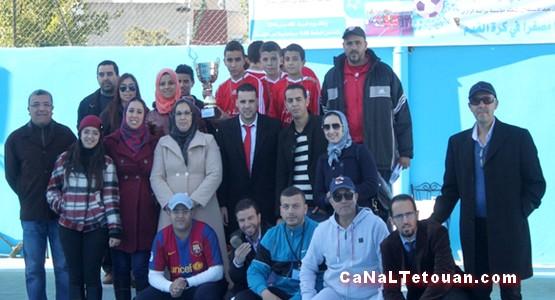 مؤسسة براعم بتطوان تحرز لقب دوري كرة القدم لعيد الاستقلال