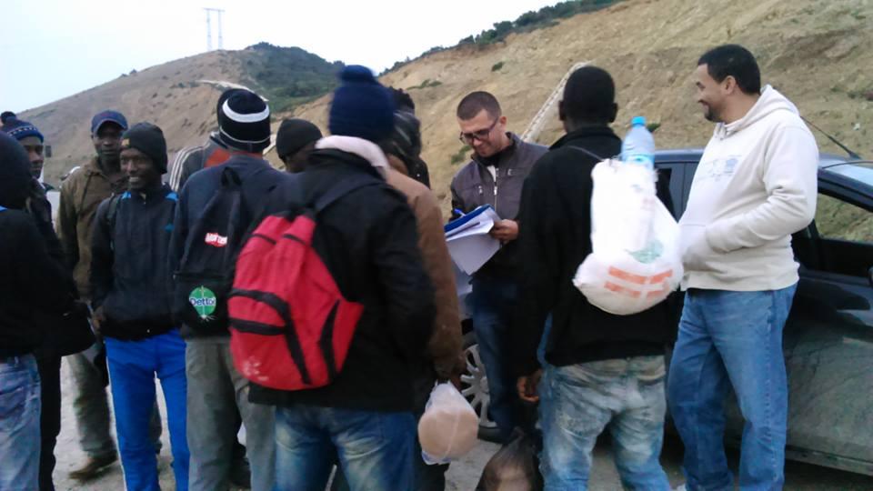 حقوقيون يدينون عنف السلطات في حق الأفارقة بساحل طنجة تطوان