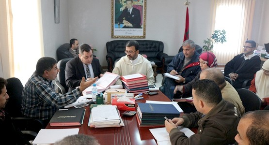 بلدية تطوان : اجتماع تقني حول صلاحيات تسليم شواهد مطابقة العنوان