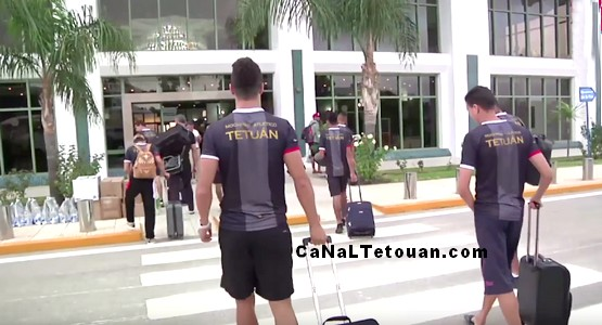 شاهد .. رحلة فريق المغرب التطواني لمواجهة مازيمبي (فيديو)
