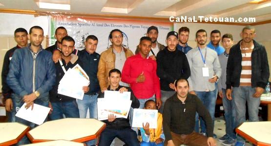 جمعية الأمل الرياضية لهواة الحمام الزاجل تنظم حفل تتويج وتوزيع الجوائز بتطوان