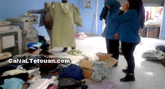 """جمعية """"متضامنون لأجل مرتيل"""" تستعد لقافلة توزيع ملابس الشتاء على الفقراء"""