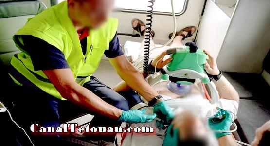طفل مغربي في حالة صحية حرجة بسبب محاولة دخوله سبتة داخل محرك سيارة