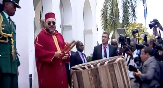 لهذا السبب قرع الملك محمد السادس الطبل رفقة الرئيس التنزاني