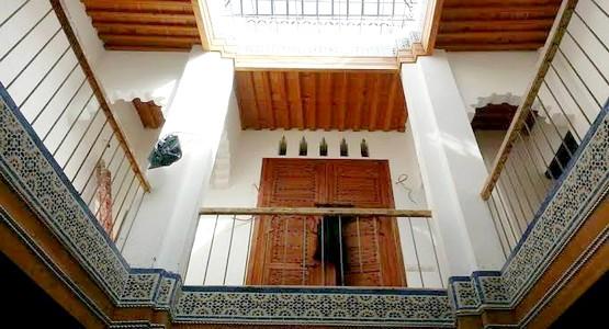 ترميم دار النقيبة بالمدينة العتيقة لتطوان التي بنيت في القرن 18