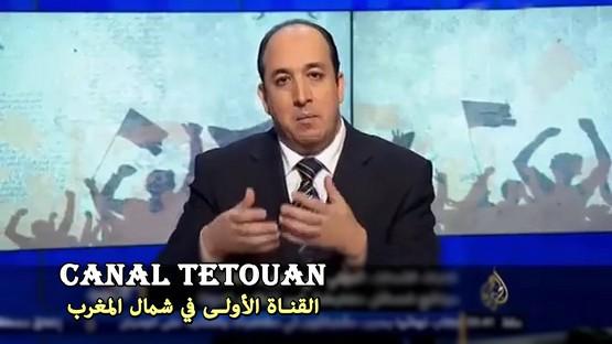 الإعلامي المغربي بالجزيرة ناصر عبد الصمد يهاجم النظام المصري بعد استقباله لوفد من البوليساريو