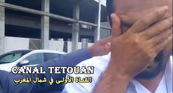 المحامي الحبيب حاجي يبكي من أجل الهيني قبل قبوله من طرف مجلس هيئة تطوان (شاهد الفيديو)