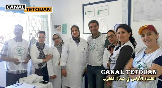 جمعية اصدقاء الصحة بشراكة مع روطاري تطوان تنظم قافلة طبية لساكنة بن قريش (شاهد الصور)