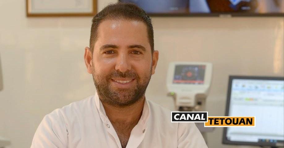 الدكتور زكرياء الجبار -طبيب العيون- يفتتح عيادته بمدينة تطوان