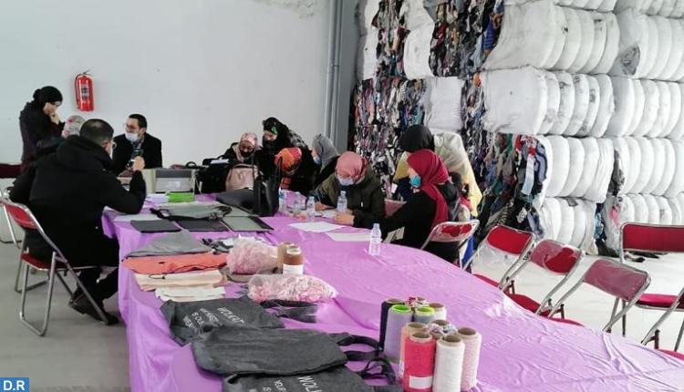 الشروع في إبرام عقود عمل لإدماج المتضررات من إغلاق معبر باب سبتة