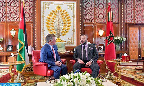 وسائل إعلام أردنية .. جلالة الملك أول قائد يتصل بالعاهل الاردني لتأكيد دعم المملكة لقرارات الاردن