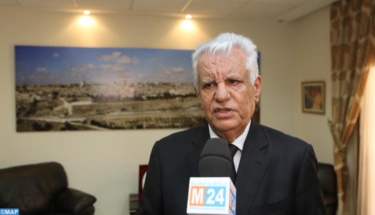 سفير دولة فلسطين يشكر الملك محمد السادس