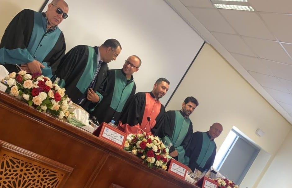 ذ اليزيد محمد يناقش أطروحة الدكتوراه حول إشكالية تنفيذ الأحكام الإدارية على ضوء دستور 2011″