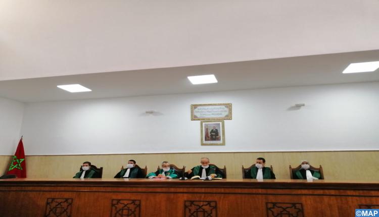 تنصيب الرئيس الأول لمحكمة الاستئناف بالحسيمة والوكيل العام للملك بها