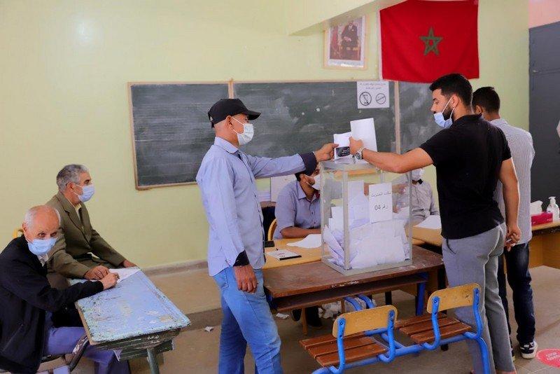 نتائج انتخابات الغرف المهنية على مستوى جهة طنجة تطوان الحسيمة